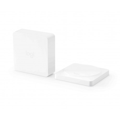 Умная кнопка + Wi-Fi концентратор Logitech Pop Smart Button Kit White