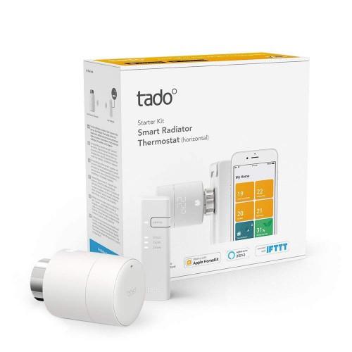 Комплект Tado Smart Radiator Thermostat Starter Kit (горизонтального монтажа)