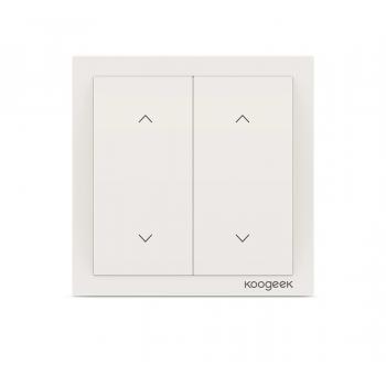 Умный выключатель-диммер Koogeek DM02CN с двумя клавишами