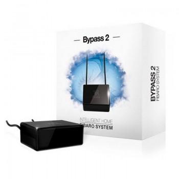 Шунт (байбас для светорегулятора) Fibaro Bypass 2 FGB-002