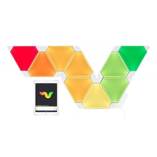 Светодиодный дизайнерский светильник Nanoleaf Aurora Rhythm Smarter Kit
