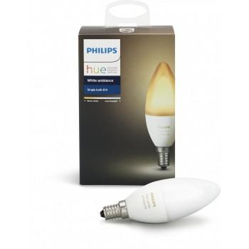 Умная лампа Philips Hue White Ambiance E14
