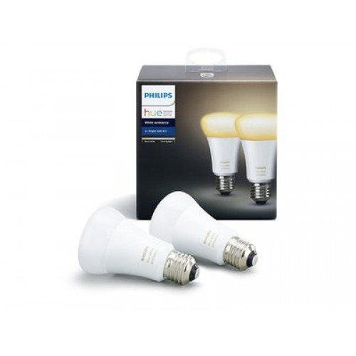 Умная лампа Philips Hue White Ambiance E27 (2шт)