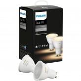 Умная лампа Philips Hue White Ambiance GU10 (2 штуки)