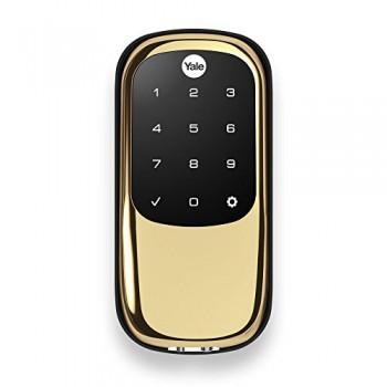Умный замок для входной двери Yale Assure Lock Key Free iM1 золото