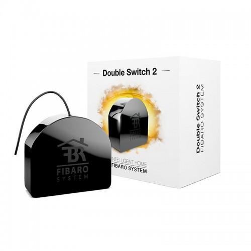 Встраиваемое двойное реле Fibaro Double Switch FGS-223 ZW5 869,2 Mhz