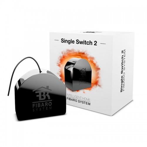 Встраиваемое реле Fibaro Single Switch FGS-213 ZW5 869 Mhz
