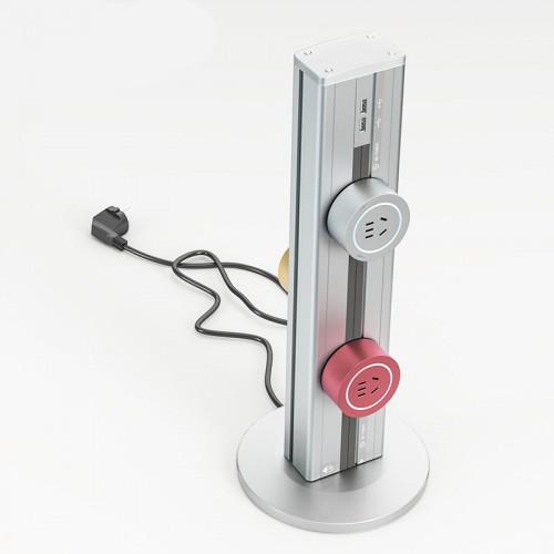Силовая дорожка Ubiquit вертикальная (448 мм) + 3 адаптера