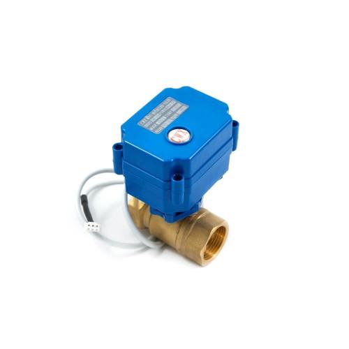 Кран шаровый с самовозвратным электроприводом нормально-открытый ARM CR04 (AC220V)