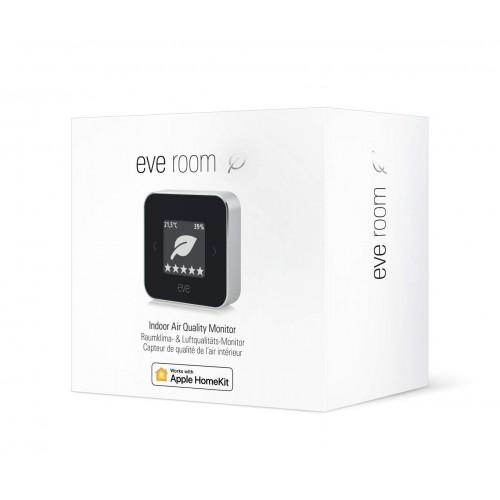 Беспроводной комнатный датчик качества воздуха, влажности и температуры Elgato Eve Room 2nd